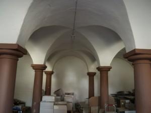 Eine Kuhkapelle, ein ehemaliger Kuhstall.
